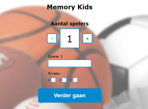 AmstelveenSport BeweegMemory kinderen