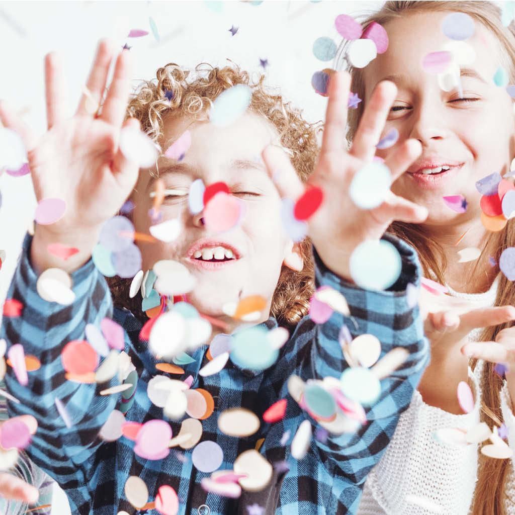 Actief feestje voor kinderen